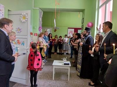 Приказната стая е предназначена за деца със специални образователни потребности