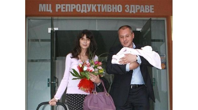 Разплаках се, че бебето на Станишев носи моето име