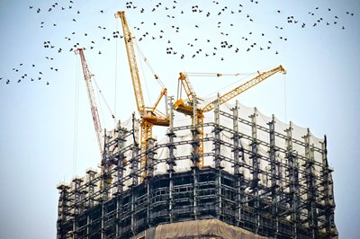 Статистиката показва, че най-голям е относителният дял на новопостроените къщи - 75,9%. 5 пъти по-малко са жилищните кооперации, които са 14,9 на сто. СНИМКА: Pixabay