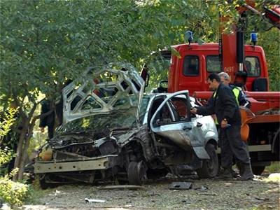 1 кг тротил взриви колата на журналиста.