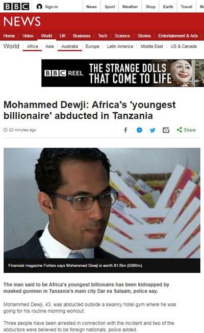 Факсимиле: bbc.com