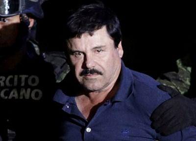 """Хоакин Гусман, известен с прозвището """"Ел Чапо""""   СНИМКА: Ройтерс"""