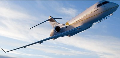 Така изглежда бизнес самолетът Bombardier Global 5000