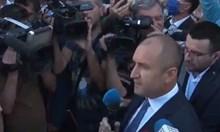 Президентът Радев: Да изхвърлим мафията от изпълнителната власт и прокуратурата (Видео)