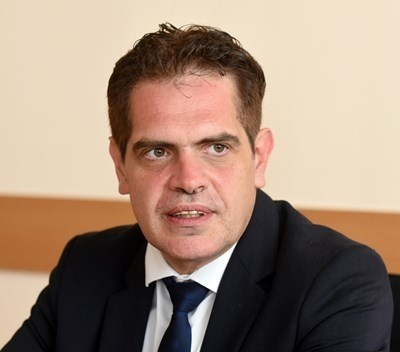 В първото заседание от работата на комисията ще вземат участие министърът на икономиката на България Лъчезар Борисов (на снимката) и турският министър на търговията  Рухсар Пекджан. Снимка Архив