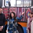 Тролей галерия с фолклорни мотиви тръгва в София