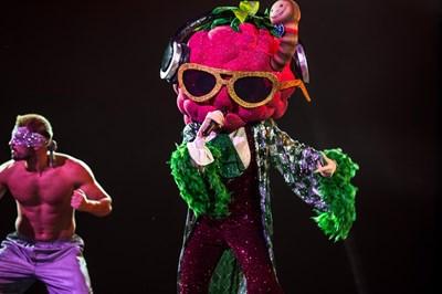 Малинката е един от костюмите в третия сезон на шоуто. СНИМКИ: ФЕЙСБУК ПРОФИЛ НА ПРЕДАВАНЕТО