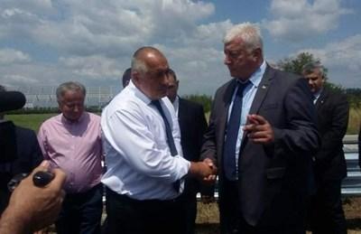 Премиерът Бойко Борисов похвали Здравко Димитров за изпълнението на Асеновградско шосе