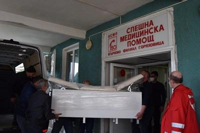 Новото медицинско оборудване е жест от стлоителите на газопровода