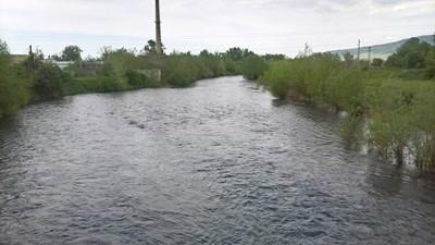 Река Огоста край Монтана