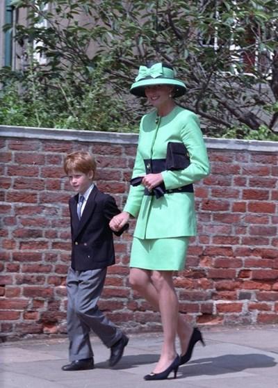 Принц Хари и Даяна Снимка: Ройтерс