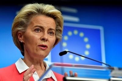 Председателят на Еврокомисията Урсула фон дер Лайен СНИМКА: Ройтерс