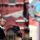 Путин на днешния Парад на победата в Москва СНИМКИ: Ройтерс