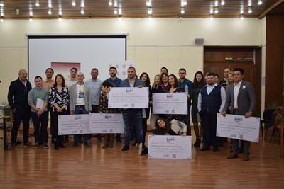 Последната група в София представи проектите си на финала на програмата в началото на тази година.