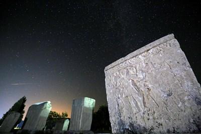 Персеидите в Радимля, близо до Столак, Босна и Херцеговина. Снимки: Ройтерс