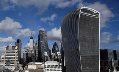 Небостъргачите на Лондон СНИМКА: РОЙТЕРС