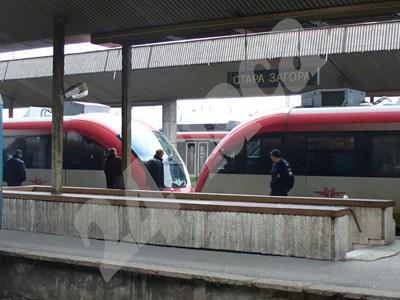 Мотрисите на Сименс са последните нови влакове в БДЖ. СНИМКА: 24 часа