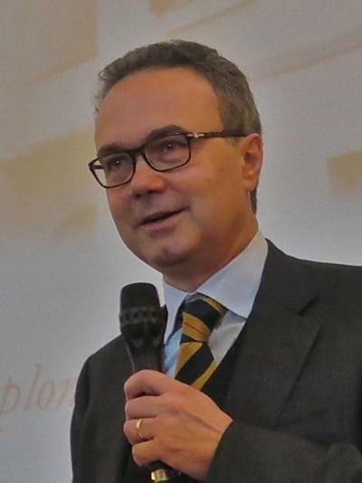 Италианският посланик Стефано Балди