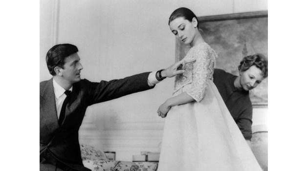 """Живанши - голямата любов на Одри Хепбърн. """"Отношенията ни бяха като брак"""", признава прочутият дизайнер"""