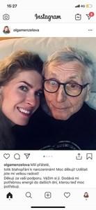 Режисьорът и съпругата му Олга благодарят във фейсбук за пожеланията послучай рождения му ден
