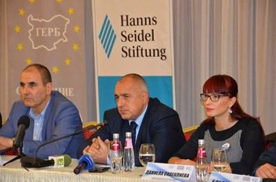 Бойко Борисов призова Цветан Цветанов в Сандански депутатите да размислят и да заличат комисията.