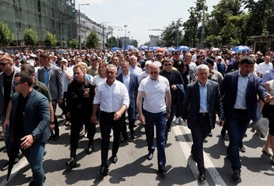 Павел Филип и Влад Плахотнюк СНИМКА: Ройтерс