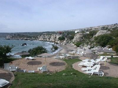Комплексът на плаж Русалка е любимо място на семейства.