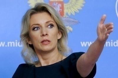 Официалният представител на руското външно министерство Мария Захарова СНИМКА: Ройтерс