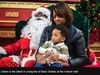 Търговски център в Америка нае първия афроамерикански Дядо Коледа