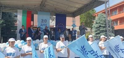 Мустафа Карадайъ бе на традиционния възпоменателен митинг в Бял извор в памет на Кязим Ибрахим Паша. Снимки ДПС