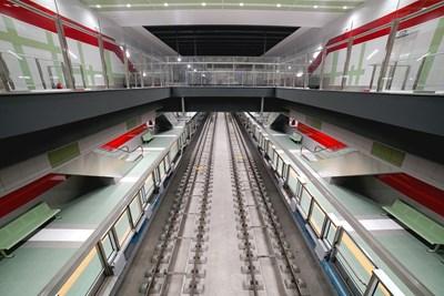 """Метростанция """"България"""" от новата линия на метрото вече е готова. СНИМКА: Десислава Кулелиева"""