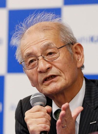 Акира Йошино. Снимка РОЙТЕРС