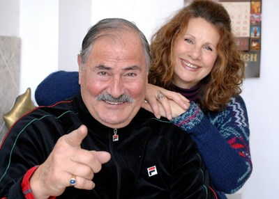 Жорж Ганчев и Шуши през 2012 г.