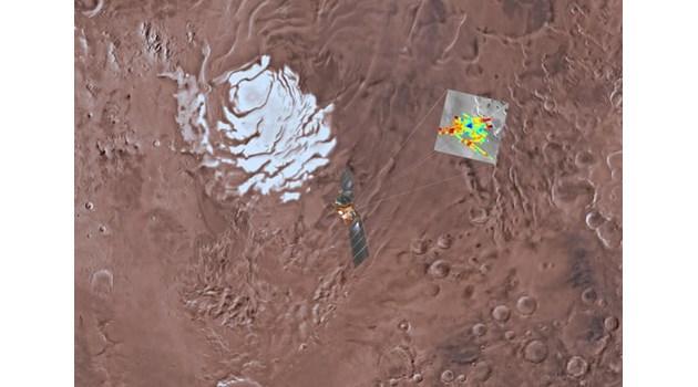 Учени откриха голямо подземно езеро на Марс