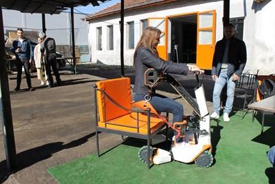 Това е прототипът на изобретението, който бе представен на 8-ото издание на Европейския панаир за социални предприемачи в Пловдив през март. СНИМКА: ЛИЧЕН АРХИВ