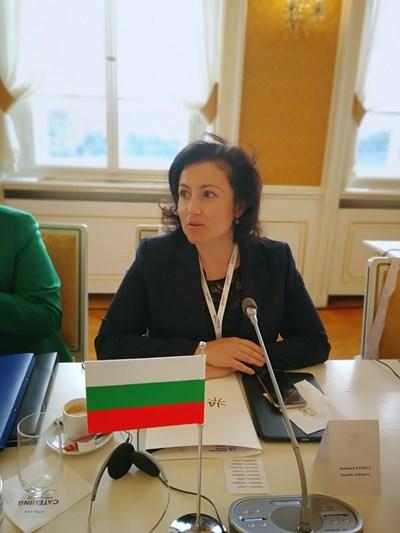 Десислава Танева СНИМКА: Министерство на земеделието, храните и горите