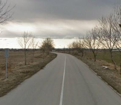 Пътят Антимово - Покрайна СНИМКА: Google Street View