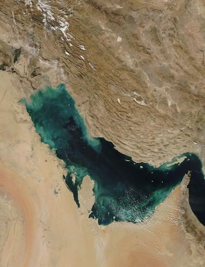 Персийският залив Снимка: Уикипедия