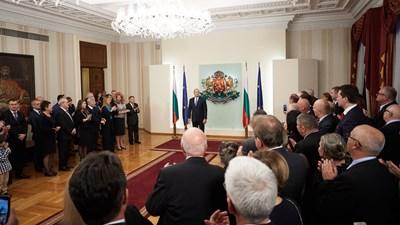 Румен Радев СНИМКИ: Прессекретариатът на президента