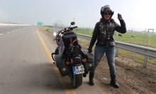 Българка обикаля света с мотор, за да даде примерна жените даследват мечтите си