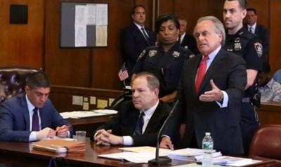 Харви Уайнстийн в съда СНИМКА: Ройтерс