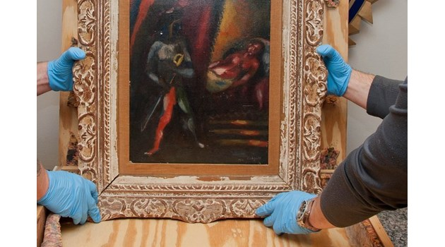 BG връзка с кражбата на картина на Марк Шагал, открита след 30 години