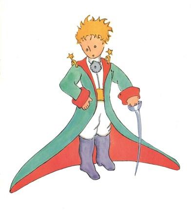 Едно от най-известните изображения на Малкия принц