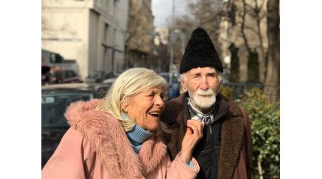 Димка и Радко - в заника на дните си са познали най-трепетното чувство, което ги кара да благодарят, че ще бъдат заедно
