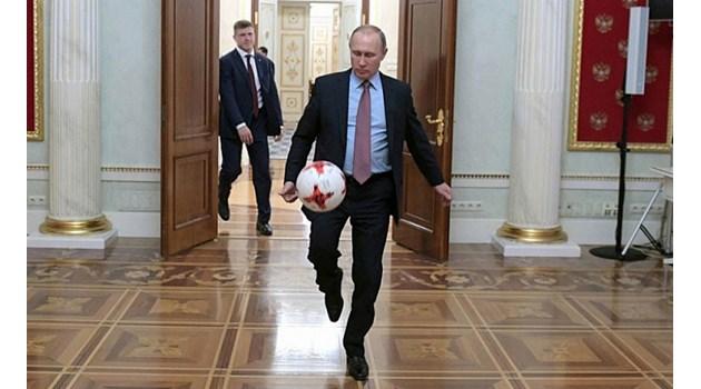 Преди Световното в съблекалнята на Русия с Путин