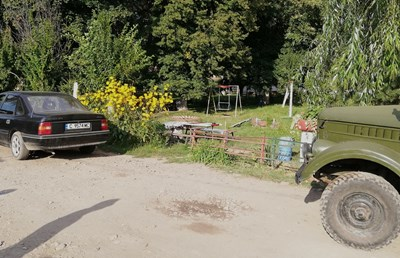 Мястото на убийството СНИМКА: Десислава Кулелиева