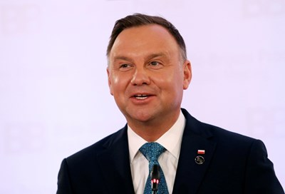 Полският президент Анджей Дуда СНИМКА: Ройтерс