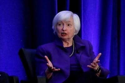 Джанет Йелън - първата жена на поста финансов министър на САЩ СНИМКА: Ройтерс