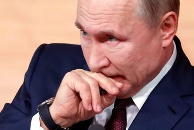 Путин заяви, че страната му ще обжалва наложеното от Изпълнителния комитет към Международната антидопингова агенция (УАДА) наказание. Снимка РОЙТЕРС