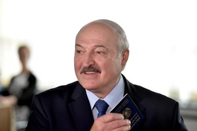 Президентът на Беларус Александър Лукашенко СНИМКИ: Ройтерс